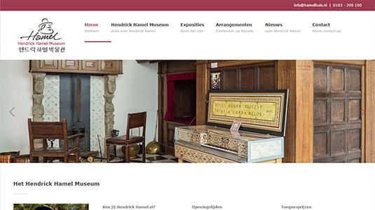 Website Hendrick Hamel Museum