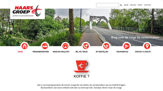 Website Haarsgroep