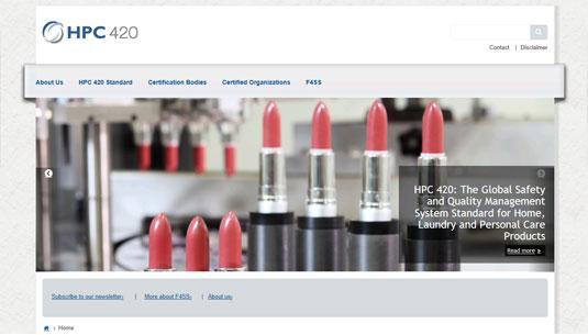 Website HPC 420