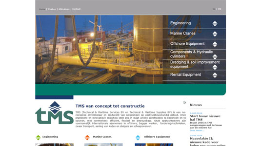 Website portal TMS